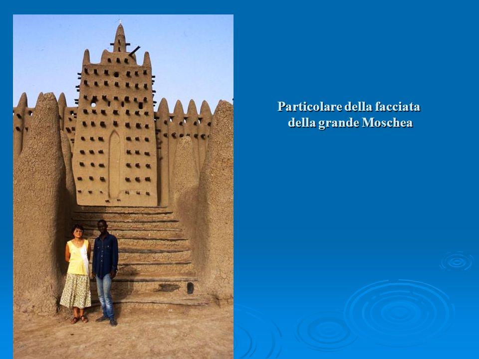 Particolare della facciata della grande Moschea