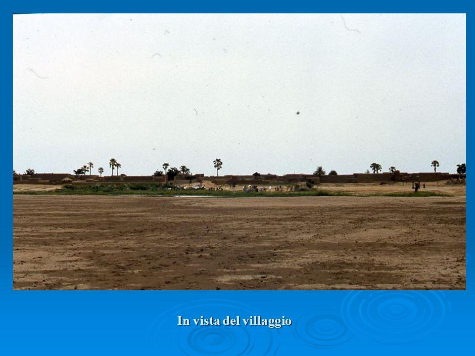 In vista del villaggio