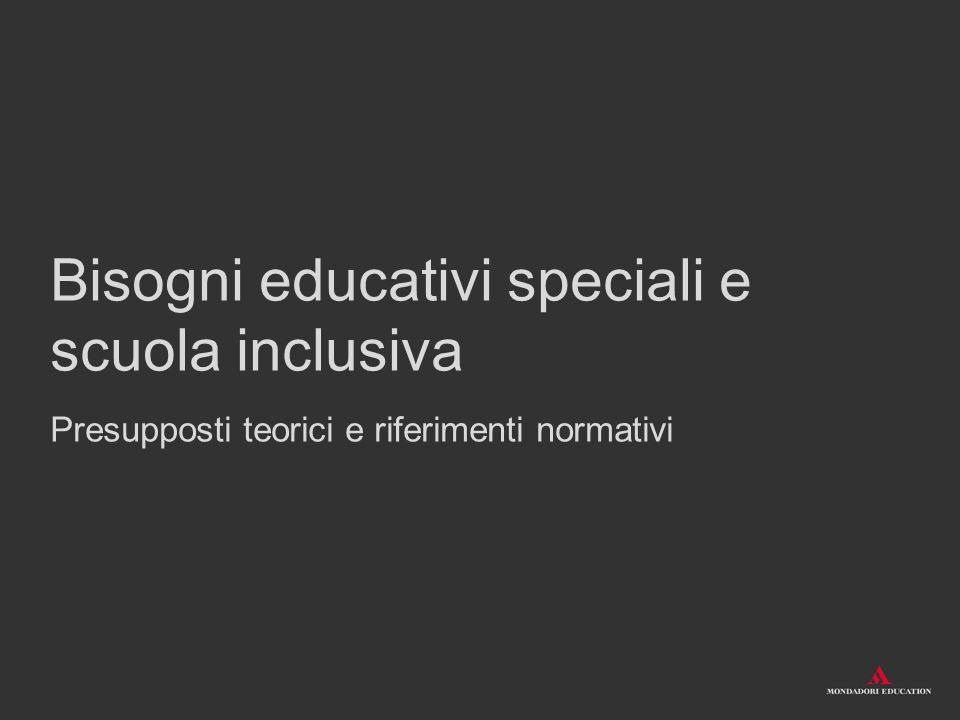Fondamenti internazionali Index per l inclusione, Booth- Ainscow, 2008: paradigma che analizza l inclusione attraverso tre dimensioni, tra loro collegate: culture, politiche, pratiche.