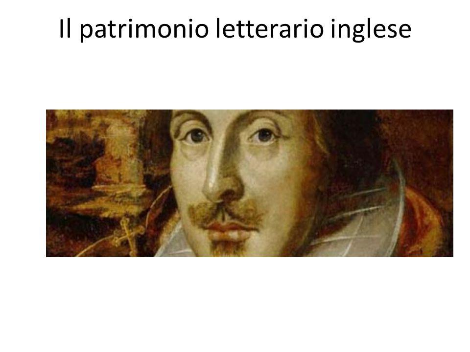 Il patrimonio letterario inglese