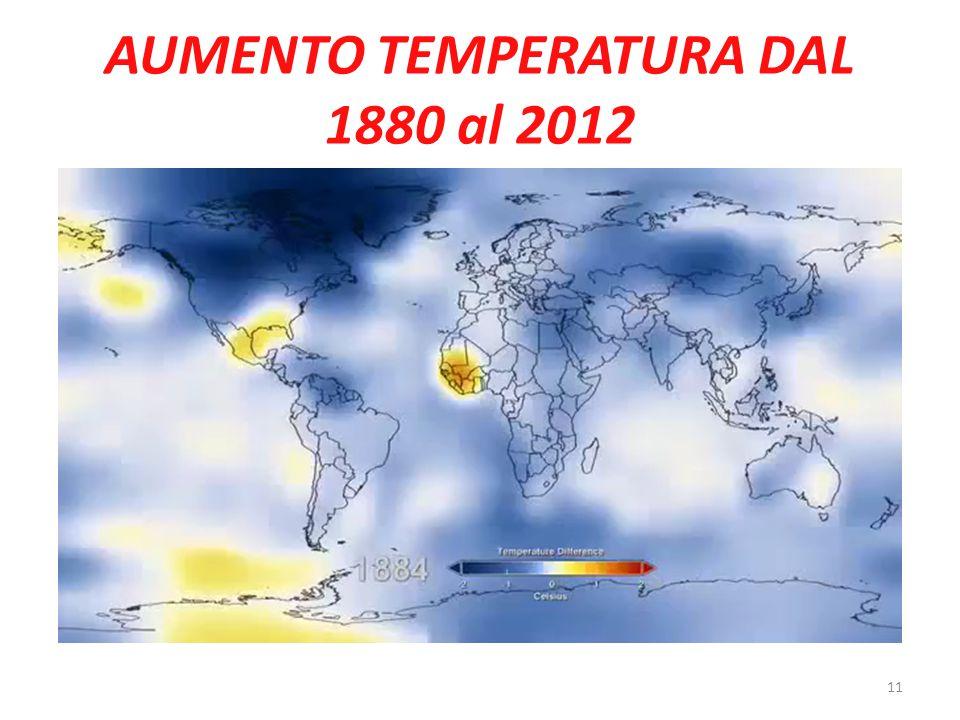 AUMENTO TEMPERATURA DAL 1880 al 2012 11