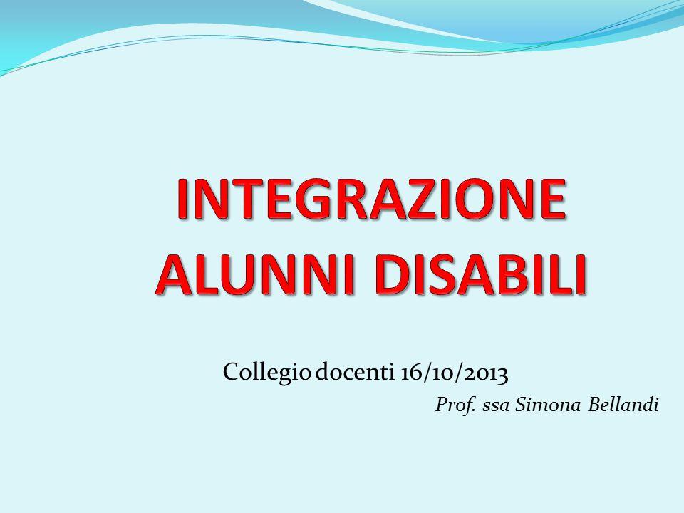 Collegio docenti 16/10/2013 Prof. ssa Simona Bellandi