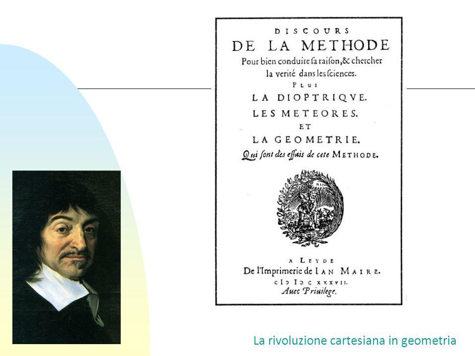 La rivoluzione cartesiana in geometria