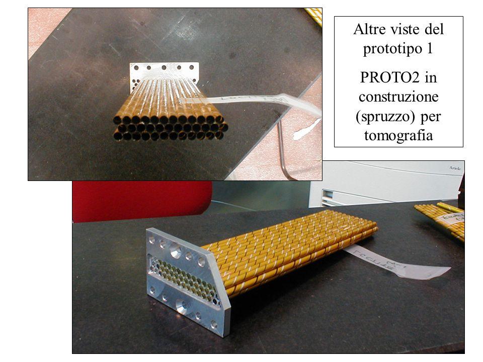 Altre viste del prototipo 1 PROTO2 in construzione (spruzzo) per tomografia