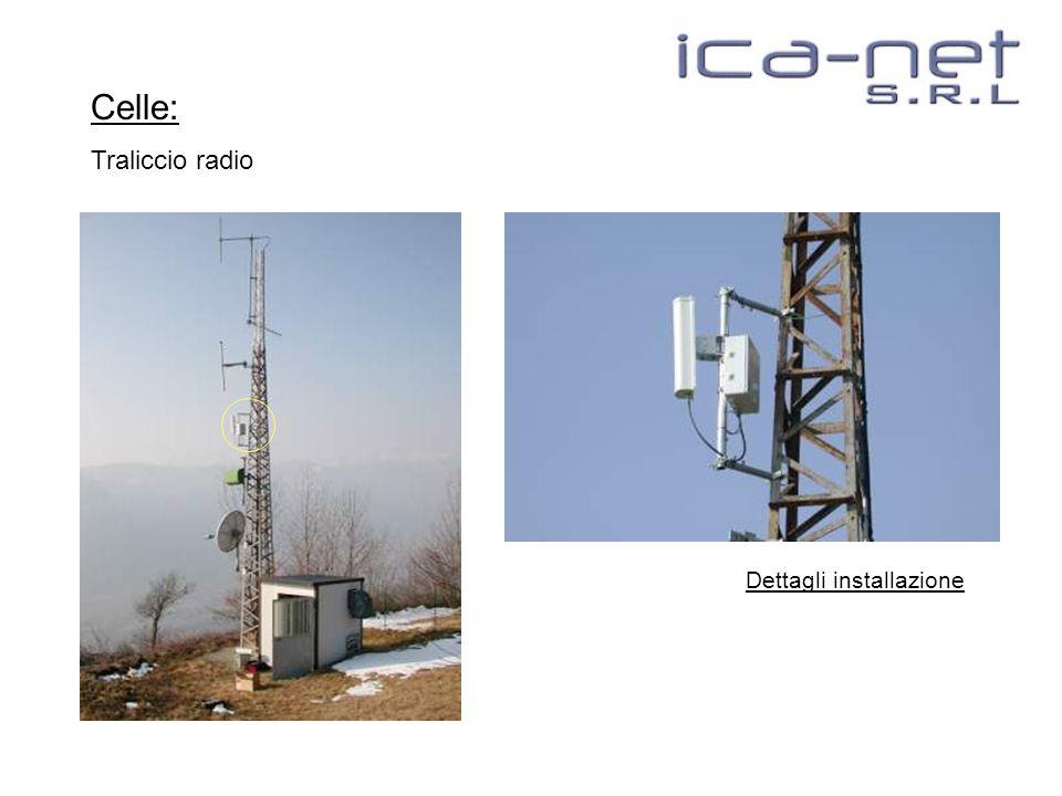 Celle: Traliccio radio Dettagli installazione