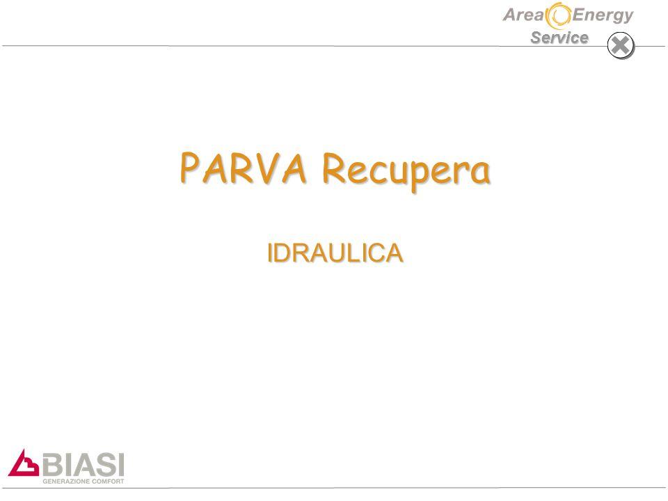Service PARVA Recupera IDRAULICA