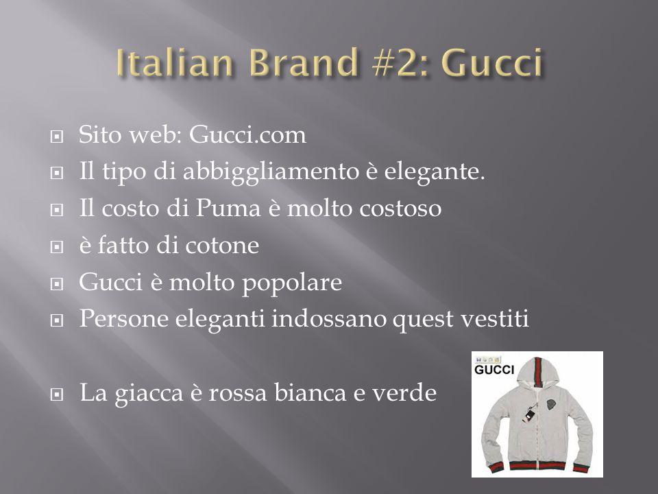  Come tu puoi vedere, la moda americana e la moda italiana sono simili.