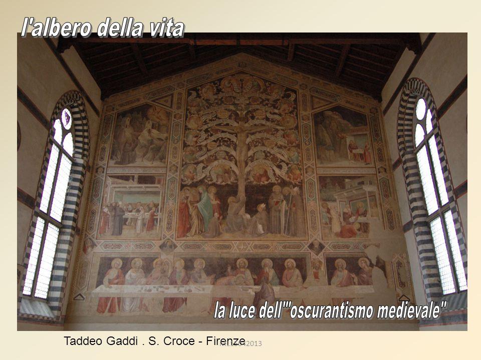 Taddeo Gaddi. S. Croce - Firenze ML15042013