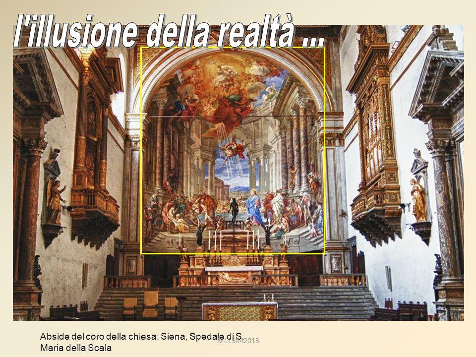 Abside del coro della chiesa: Siena, Spedale di S. Maria della Scala ML15042013
