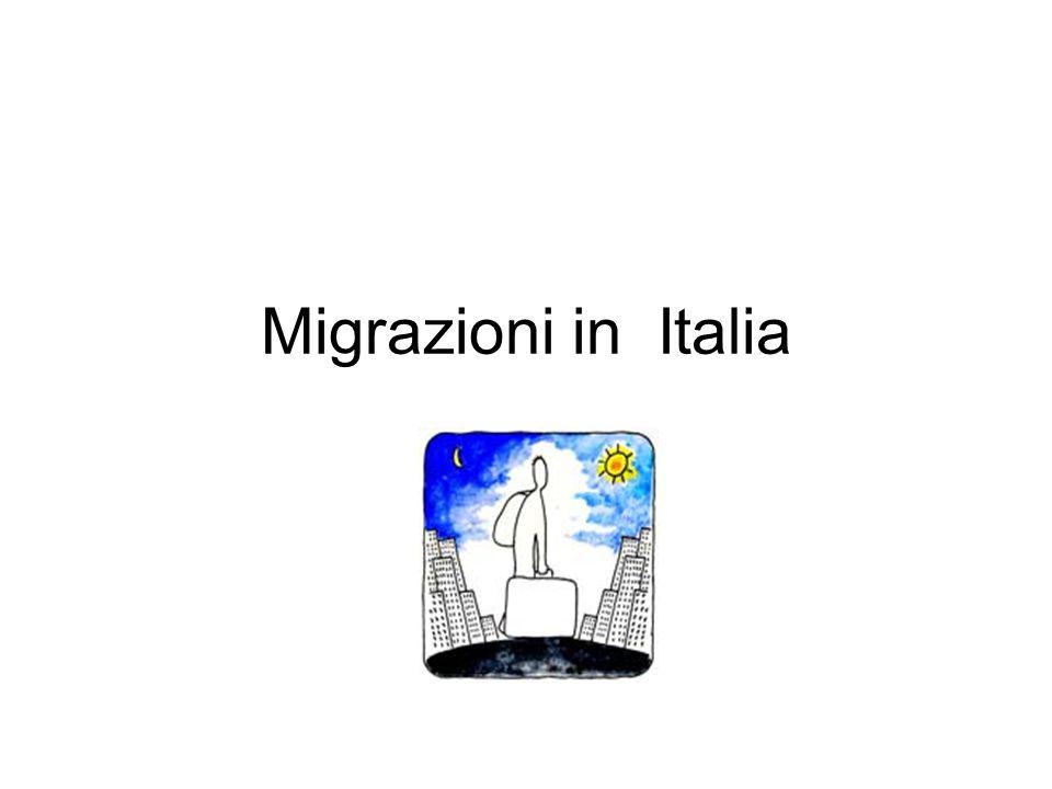 Migrazioni in Italia