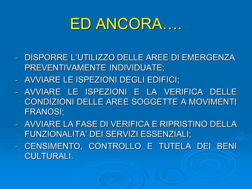 ED ANCORA….