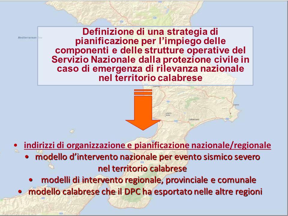 ORGANIZZAZIONE SUL TERRITORIO NELL'AMBITO DELLA CATENA DI COMANDO E CONTROLLO NAZIONALE, LA PROTEZIONE CIVILE REGIONALE E' COSI' GERARCHIZZATA IN CENTRI DI GESTIONE DELL'EMERGENZA : NELL'AMBITO DELLA CATENA DI COMANDO E CONTROLLO NAZIONALE, LA PROTEZIONE CIVILE REGIONALE E' COSI' GERARCHIZZATA IN CENTRI DI GESTIONE DELL'EMERGENZA : MODELLO INTEGRATO D'INTERVENTO  DI.COMA.C.