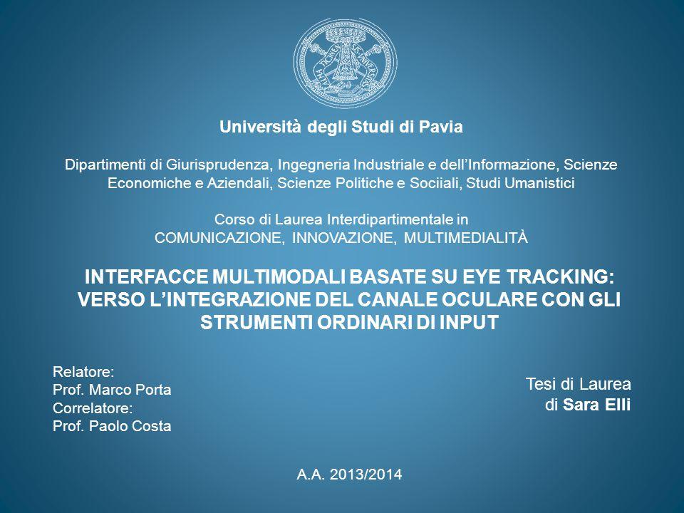 Università degli Studi di Pavia Dipartimenti di Giurisprudenza, Ingegneria Industriale e dell'Informazione, Scienze Economiche e Aziendali, Scienze Po