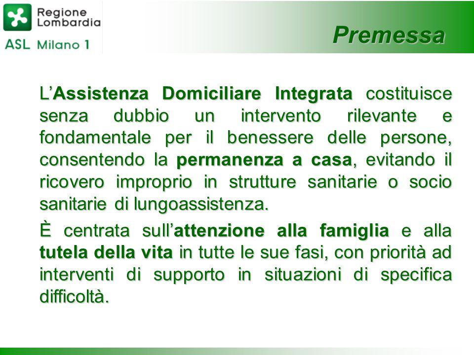 L'Assistenza Domiciliare Integrata costituisce senza dubbio un intervento rilevante e fondamentale per il benessere delle persone, consentendo la perm