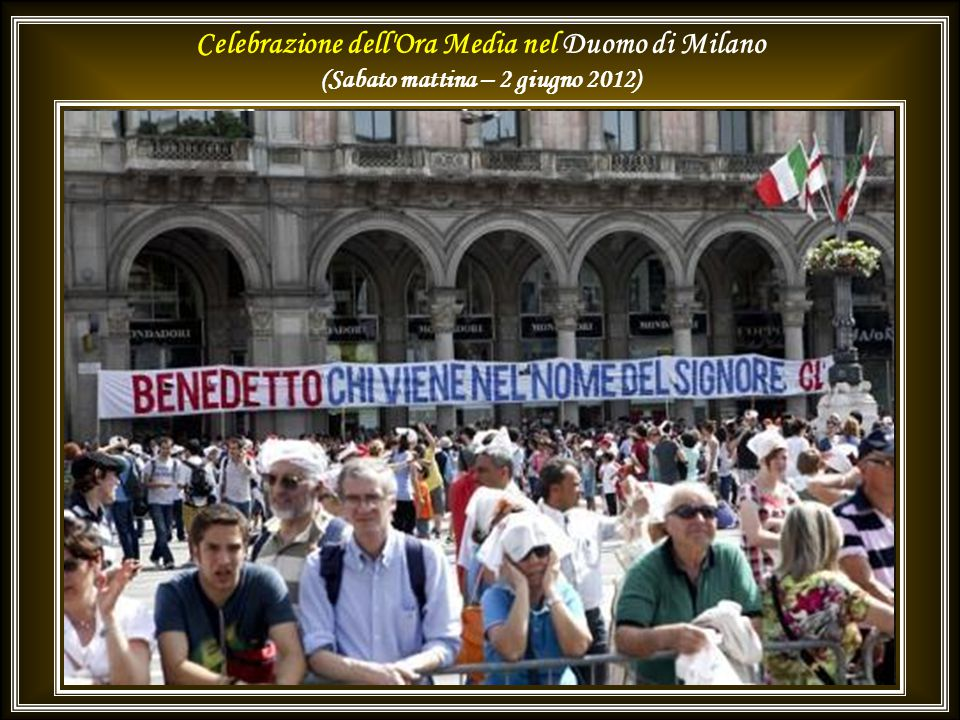 Concerto in onore del Santo Padre e delle Delegazioni Ufficiali dell Incontro Mondiale delle Famiglie nel Teatro alla Scala di Milano.