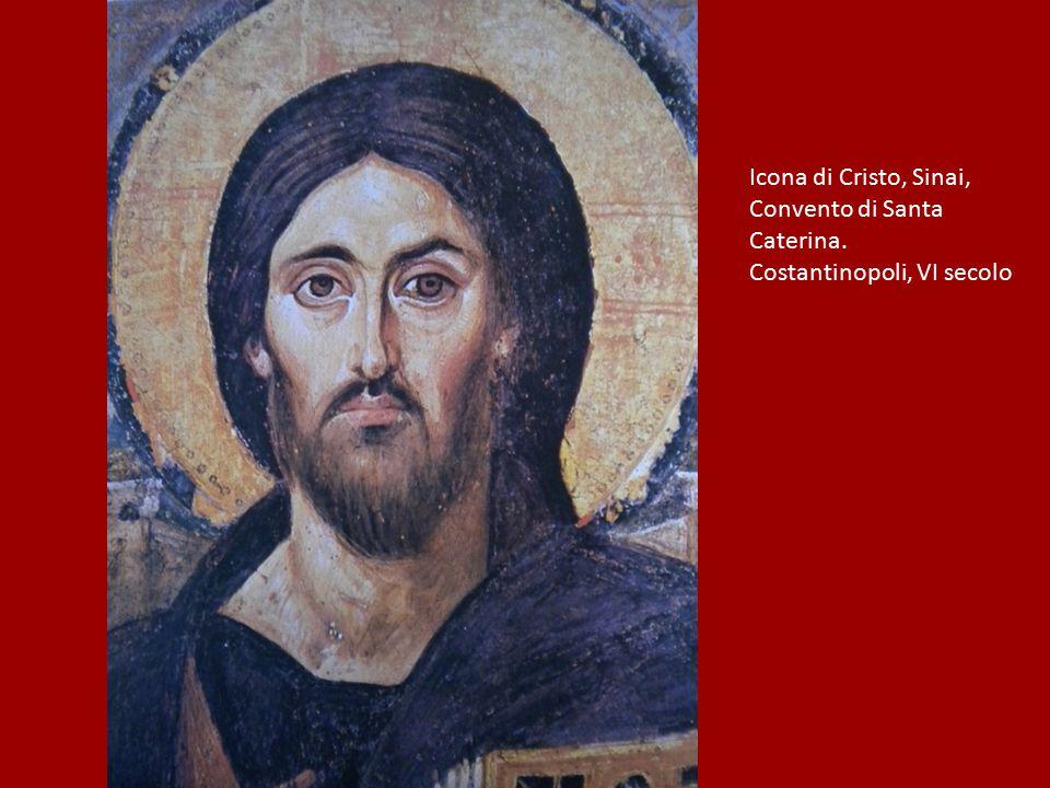 Icona di Cristo, Sinai, Convento di Santa Caterina. Costantinopoli, VI secolo