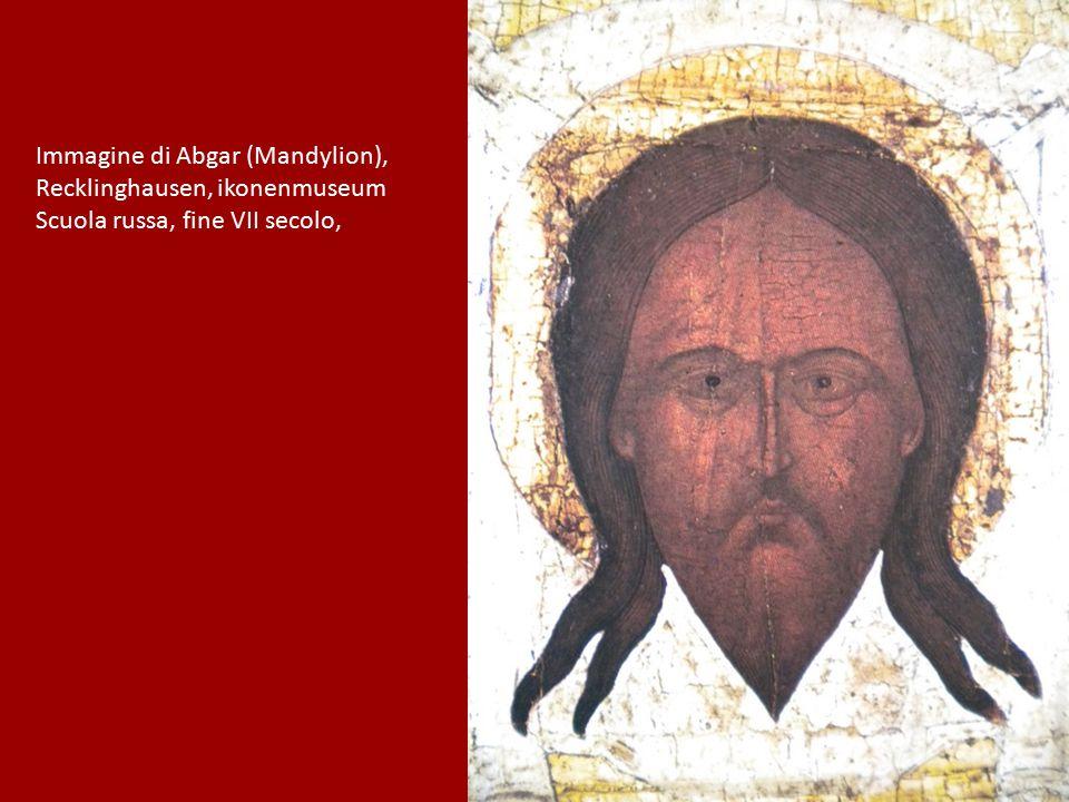 Immagine di Abgar (Mandylion), Recklinghausen, ikonenmuseum Scuola russa, fine VII secolo,