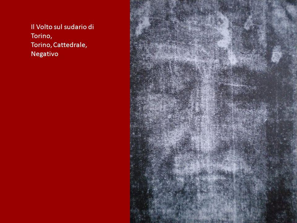 Il Volto sul sudario di Torino, Torino, Cattedrale, Negativo