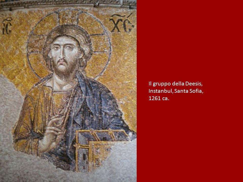 Il gruppo della Deesis, Instanbul, Santa Sofia, 1261 ca.