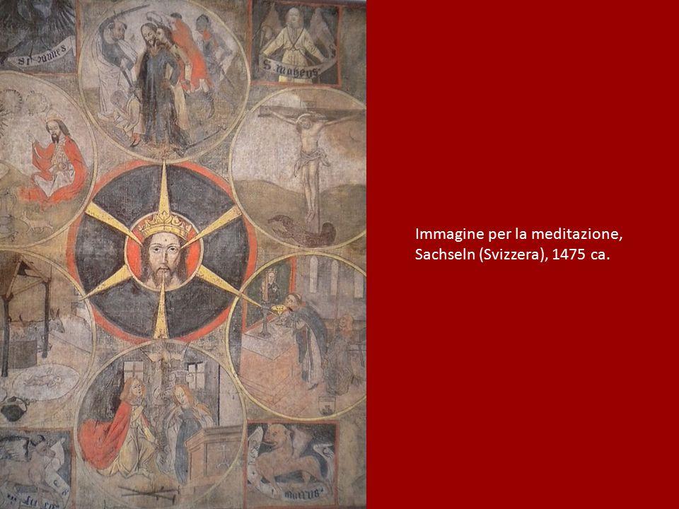 Immagine per la meditazione, Sachseln (Svizzera), 1475 ca.