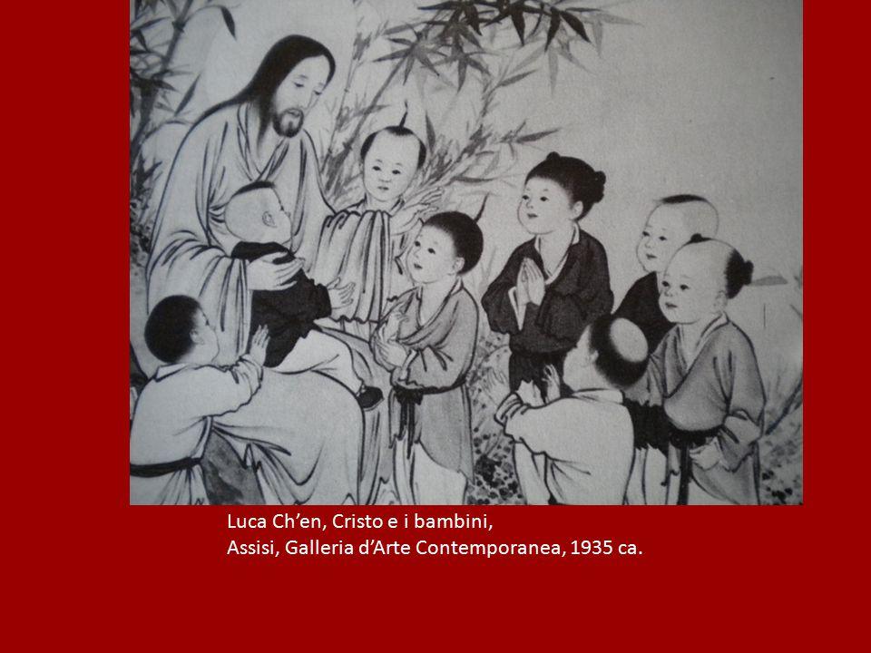 Luca Ch'en, Cristo e i bambini, Assisi, Galleria d'Arte Contemporanea, 1935 ca.
