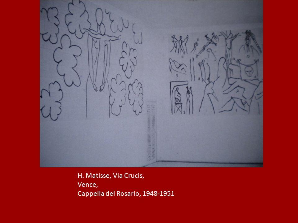 H. Matisse, Via Crucis, Vence, Cappella del Rosario, 1948-1951