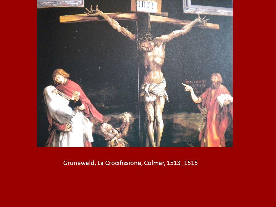 Grünewald, La Crocifissione, Colmar, 1513_1515