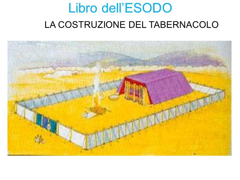 Libro dell'ESODO LA COSTRUZIONE DEL TABERNACOLO