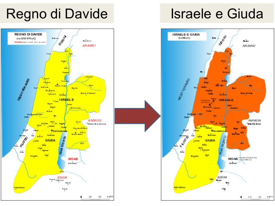 Regno di Davide Israele e Giuda