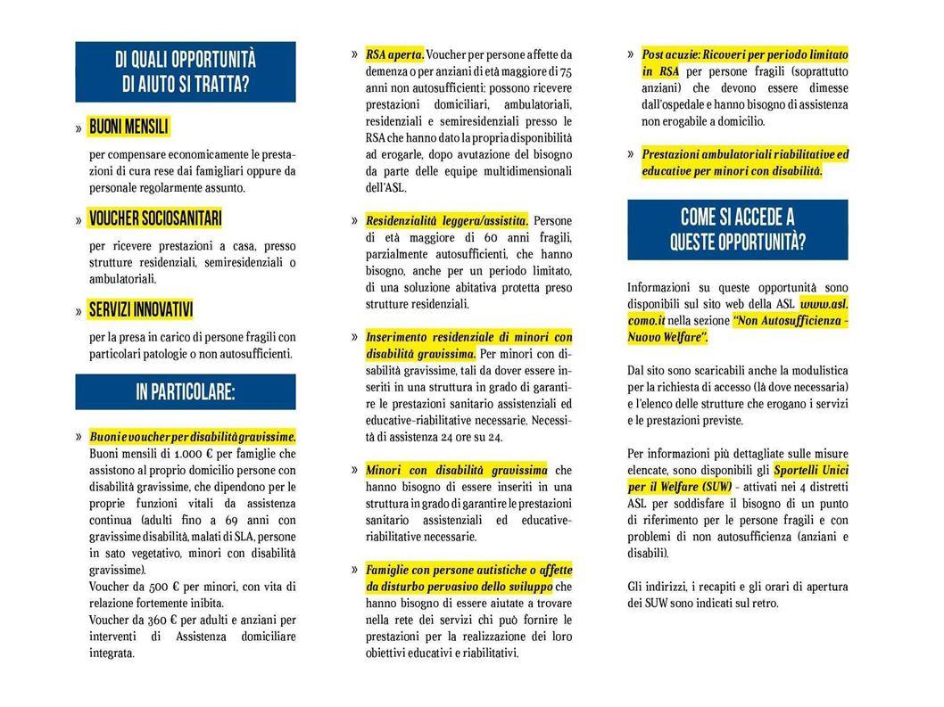 PER INFORMAZIONI COOPERATIVA SOCIALE PROGETTO SOCIALE VIA ARCONI, 73 CANTU 031715310-3485849195 MAIL info@progettosociale.itinfo@progetto visita il sito www.progettosociale.it