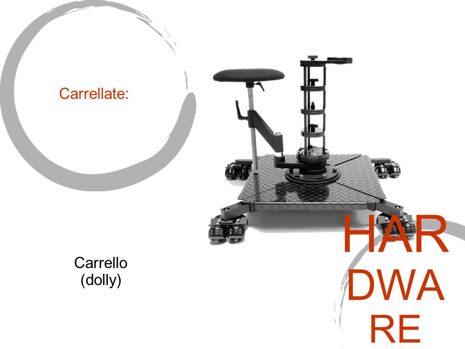 Carrello (dolly) Carrellate: HAR DWA RE