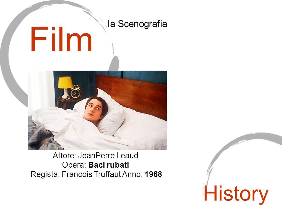 Film Ia Scenografia Attore: JeanPerre Leaud Opera: Baci rubati Regista: Francois Truffaut Anno: 1968 History