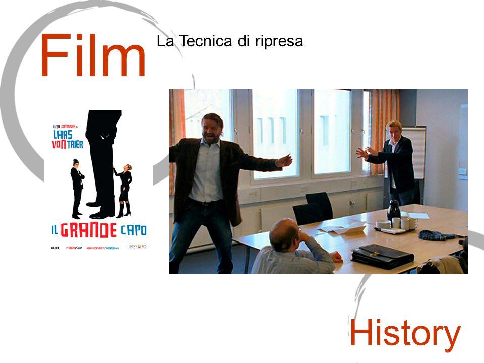 Film La Tecnica di ripresa History