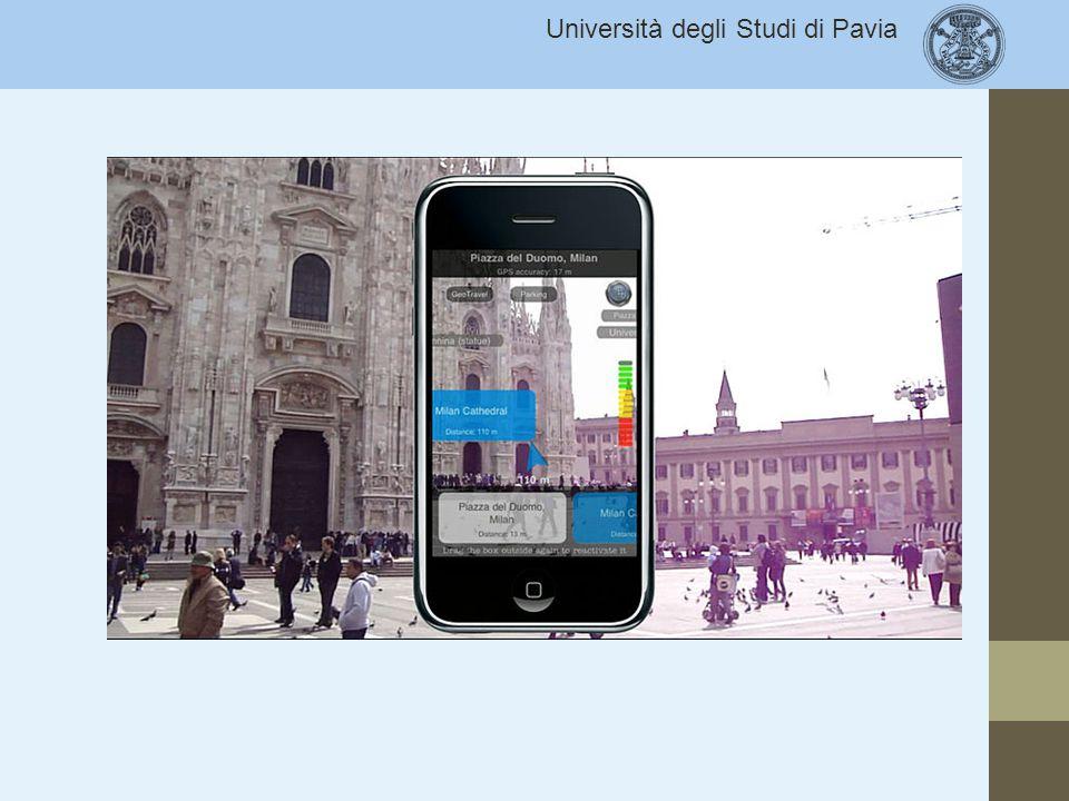 REALTA' AUMENTATA Sovrapposizione di immagini reali e virtuali. ATTENZIONE DELL'UTENTE