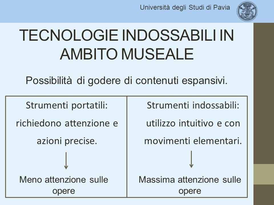 Università degli Studi di Pavia VANTAGGI Completezza, qualità e comprensione Esperienza migliore Target di pubblico più ampio Strumento didattico