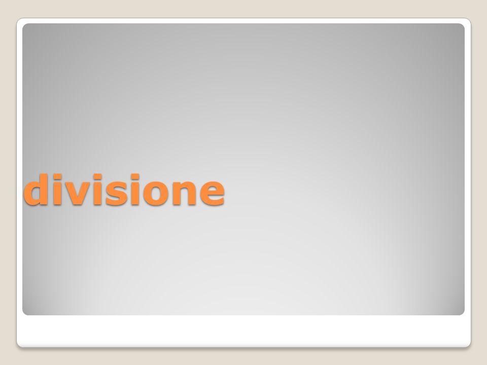 divisione ognuna delle parti in cui è divisa una ditta, un'azienda (sin. reparto )