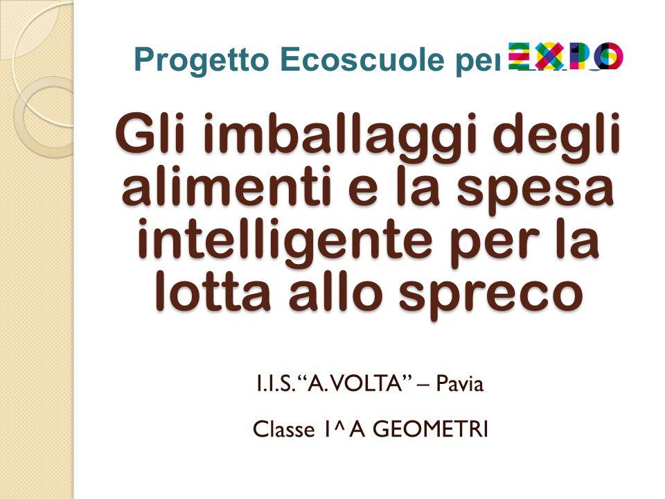Progetto Ecoscuole per EXPO Gli imballaggi degli alimenti e la spesa intelligente per la lotta allo spreco I.I.S.