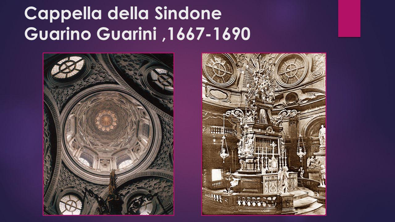 Cappella della Sindone Guarino Guarini,1667-1690