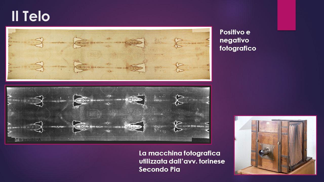 Il Telo Positivo e negativo fotografico La macchina fotografica utilizzata dall'avv. torinese Secondo Pia