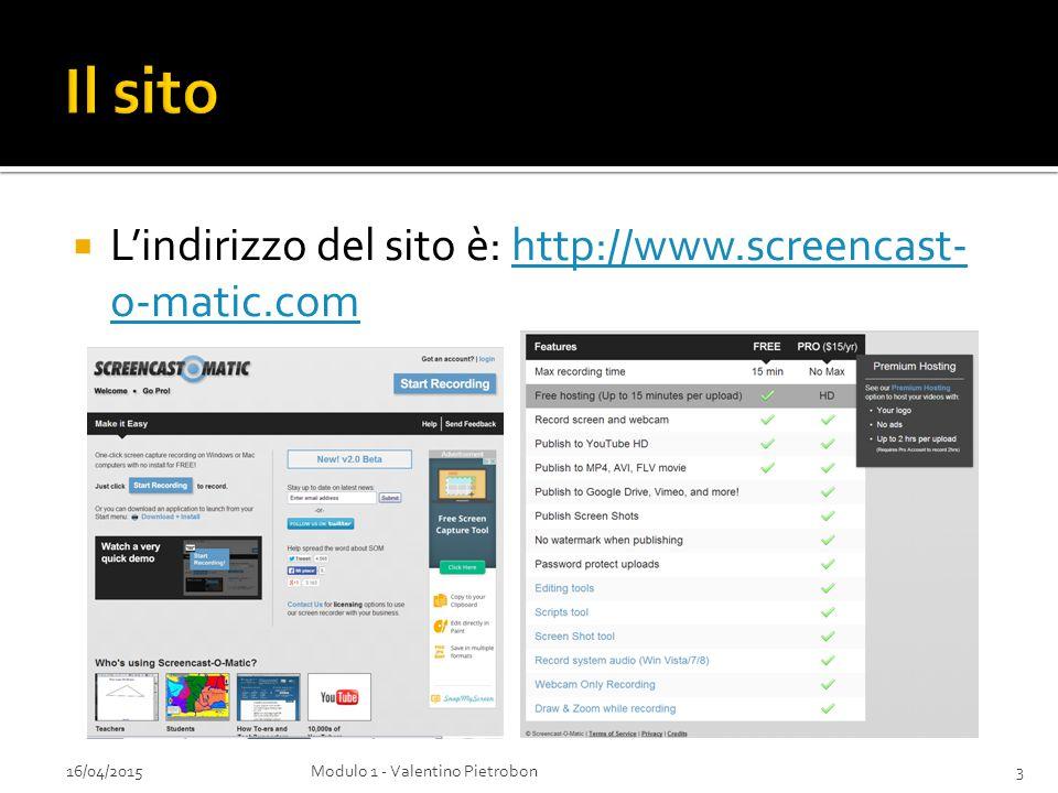  Il sito mette a disposizione due possibili versioni:  Attraverso una applicazione scaricabile dal pulsante New.