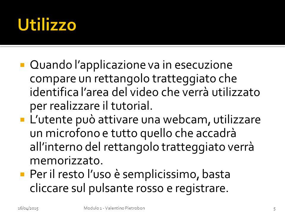 16/04/2015Modulo 1 - Valentino Pietrobon6