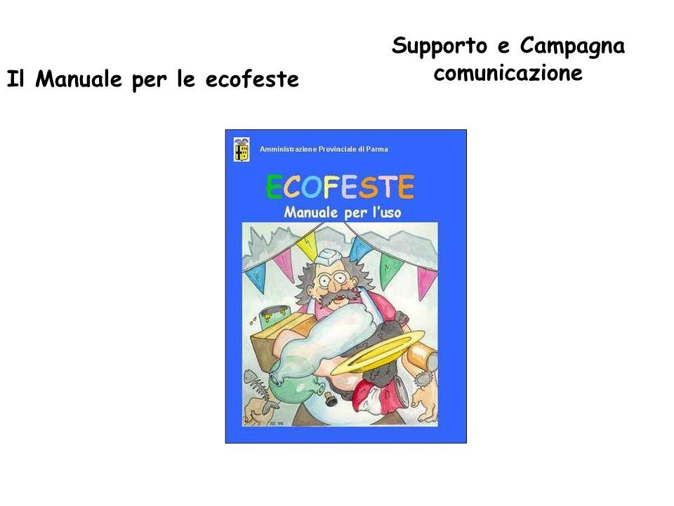 Il Manuale per le ecofeste Supporto e Campagna comunicazione