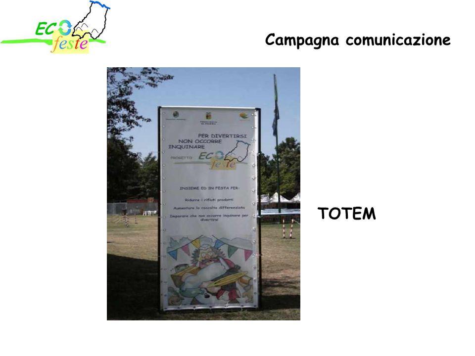 TOTEM Campagna comunicazione