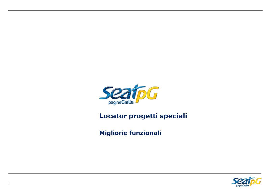 1 Migliorie funzionali Locator progetti speciali