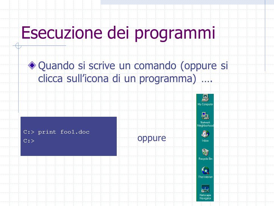 Sistemi multiprogrammati In quali casi è opportuno fermare un processo e concedere il processore ad un altro processo.