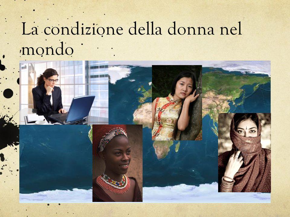 La condizione della donna nel mondo