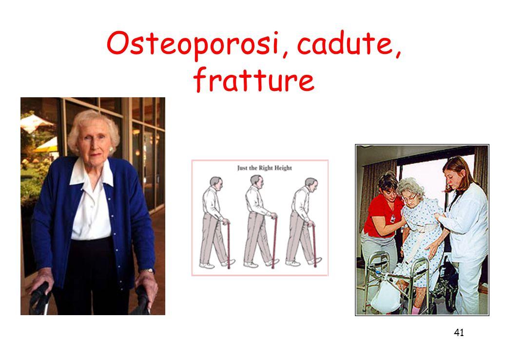 41 Osteoporosi, cadute, fratture