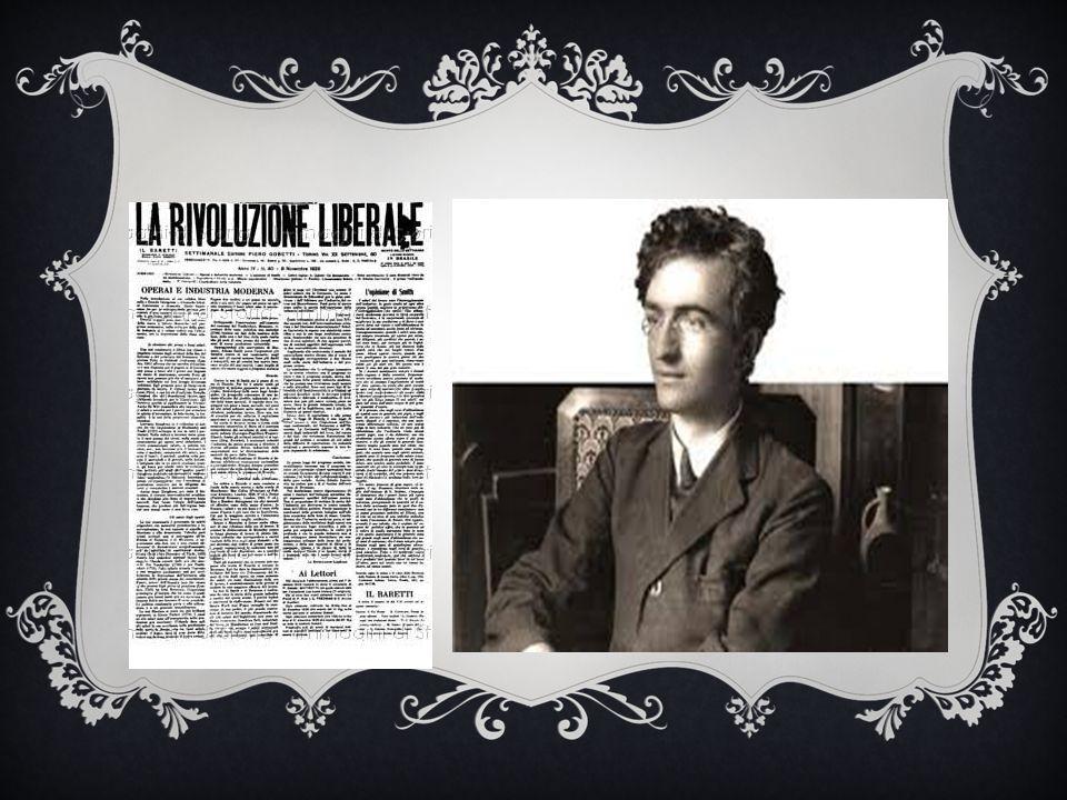 Nel 1925 Piero Gobetti chiede a Tommaso Fiore di raccontare la Puglia su Rivoluzione liberale .