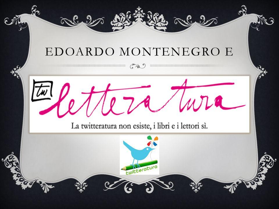 EDOARDO MONTENEGRO E
