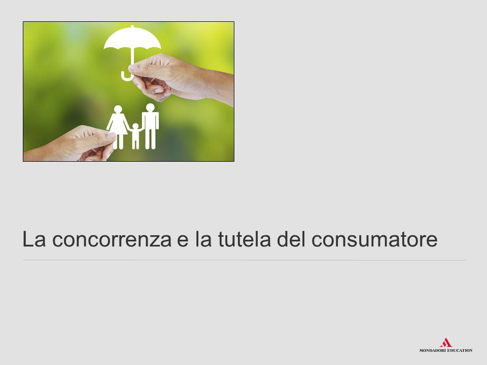 La concorrenza e la tutela del consumatore